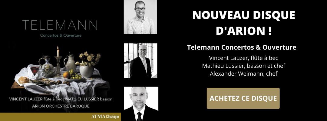Disque Telemann Concertos & ouverture