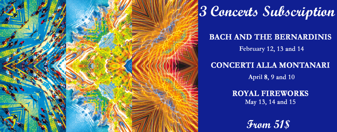 3 Concerts Subscription