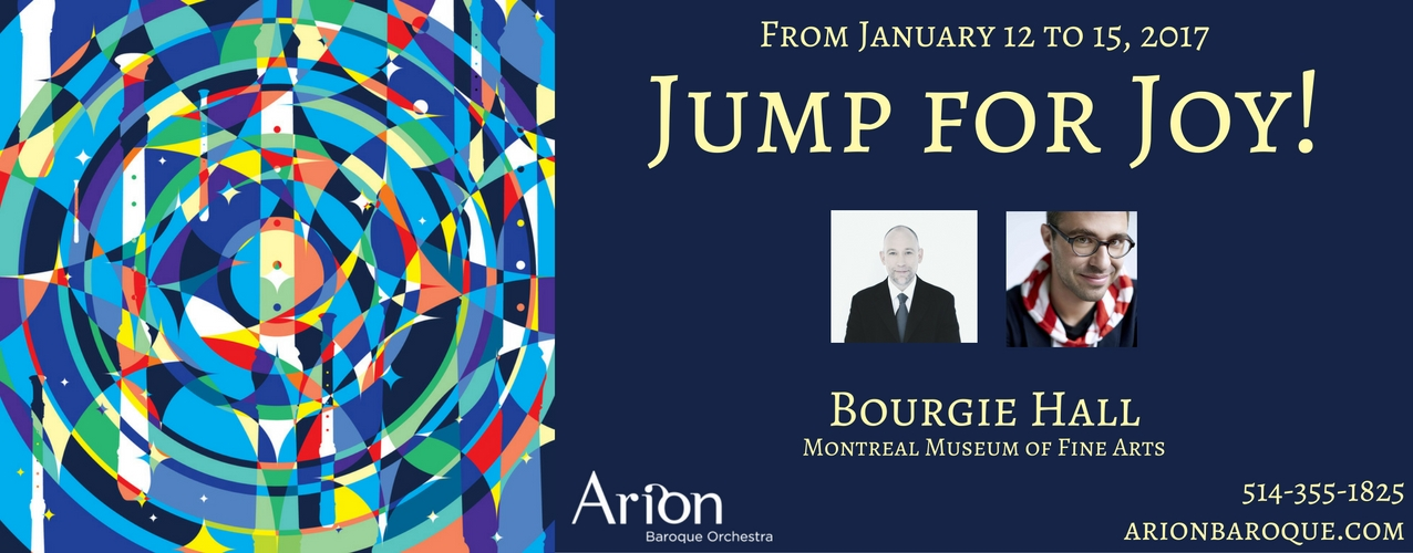 Jump for Joy! | Arion Baroque Orchestra