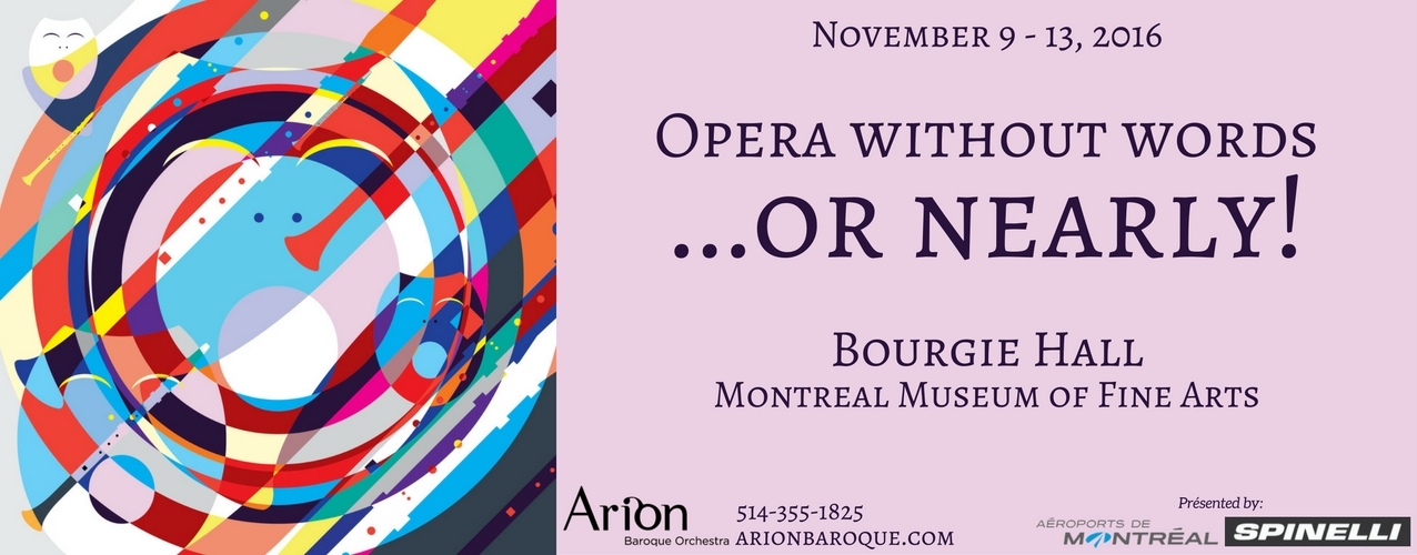 Opera without words... or nearly!