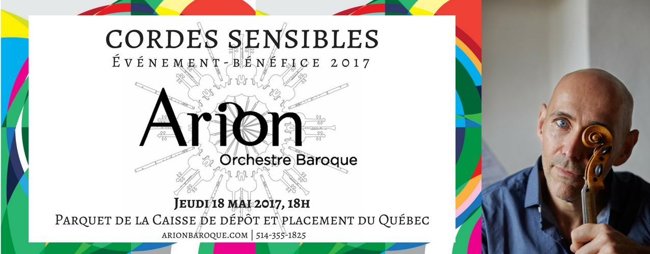 Événement-bénéfice 2017 Arion