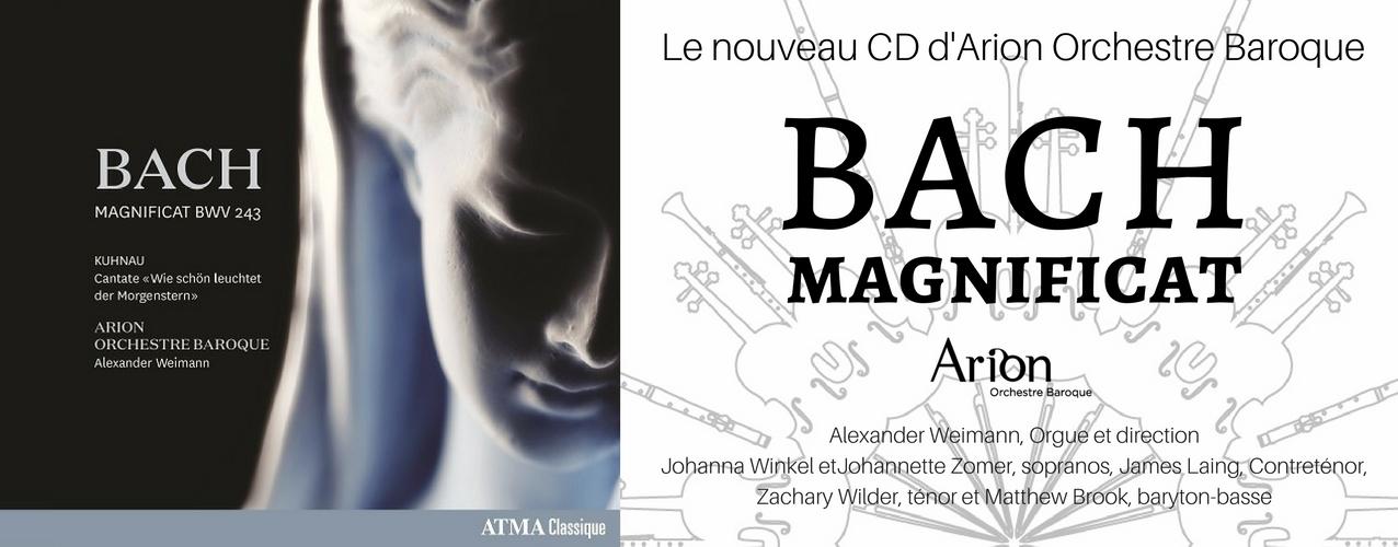Bach Magnificat | Arion Orchestre Baroque