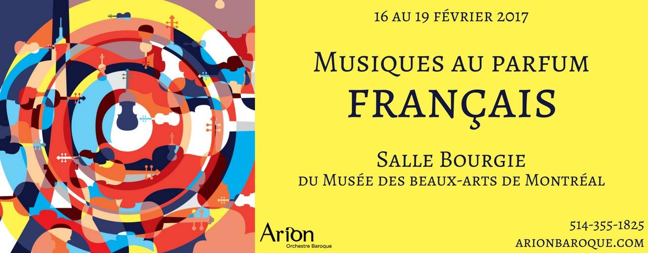 Musiques au parfum français | Arion Orchestre Baroque