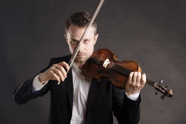 Boris Begelman + chef + violoniste